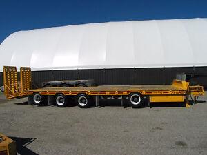 2005 Float King 40 ton tag-a-long quad London Ontario image 3