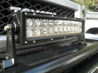 "Leduc LED Light Bar 21"" Flood Spot Off Road Lamp On Sale $30 Off"