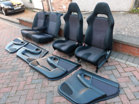 Subaru Impreza WRX 2002 Bugeye, Seats and Door Cards