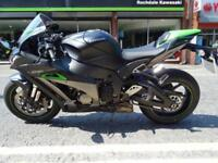 2018 KAWASAKI ZX10R SE EX DEMO WITH SUPER LOW MILES