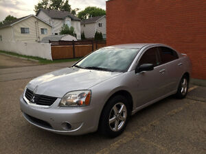 2007 MITSUBISHI GALANT GS ONLY 97 KM ONE YEAR WARRANTY
