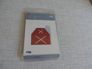 Quickutz Barn Die (4X4)  for Scrapbooking/Cardmaking