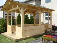 Timber frame project