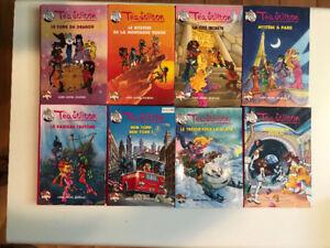 Collection de livres Tea Stilton (Tome 1 à 8)
