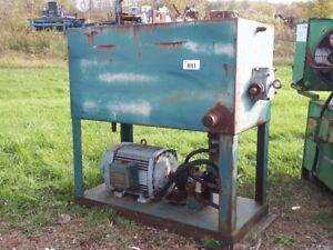Hydraulic Tank with Pump and Motor **Auction Nov.2 **
