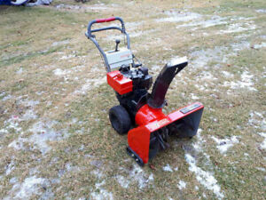** Craftsman snowblower 8HP 26 inch w electric start $325 **