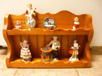 7 Very Nice Made In Occupied Japan Figurines (1945-1952)