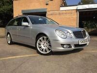 2009 09 MERCEDES-BENZ E CLASS 3.0 E280 CDI SPORT 5D AUTO ESTATE FULL MAIN DEALER