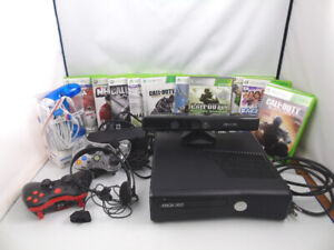 XBox 360 with Controllers Games Head Phones