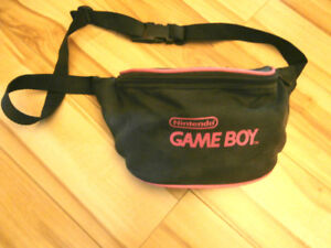 Vintage Game Boy Fanny Pack Carrying Case