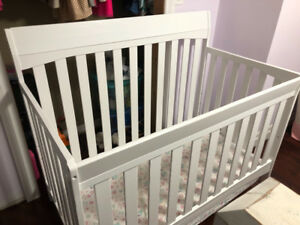 3-in-1 mint condition crib and mattress