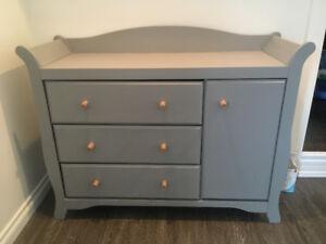 Refinished change table/dresser