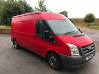 2011 Ford Transit 2.4TDCi 115t350 6 speed fwd lwb medium roof van no vat