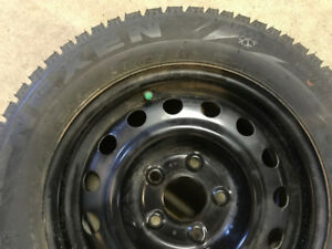 4 winter tires 195\65\15 +rims+hubcaps for Hyundai Elantra