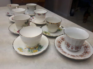 Various Fine China/Rare Cups & Saucers, Volume Discount Avail.