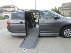 Honda Odyssey Wheelchair Conversion Van
