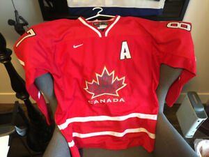 Crosby 2010 Olympic jersey