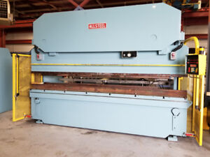 ALLSTEEL PRESS BRAKE   135 TONS X 12'