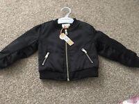 River island bomber jacket 9-12 Months