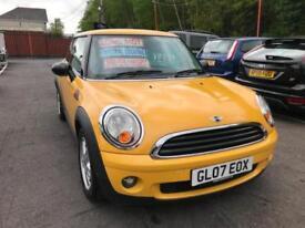 2007 (07) Mini Mini 1.4 One ** New Mot Issued On Purchase **