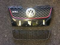 Mk5 golf gti front bumper grills