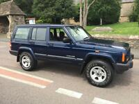 2000 W JEEP CHEROKEE 2.5 TD TURBO DIESEL ESTATE 4x4 5 SPEED MANUAL // RUST FREE
