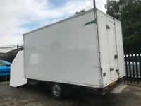 REMOVING FROM Ford Transit INSULATED FRIDGE BOX BODY # ONLY SELLING BOX BODY #