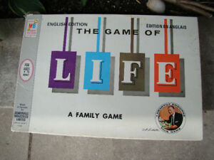 Vintage Game Of Life Board Game