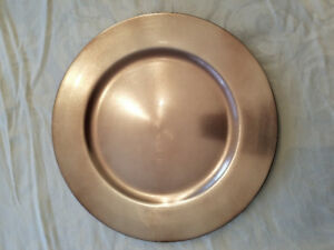 Champagne Gold Charger Plates