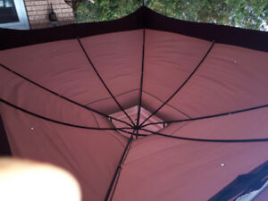 Screened in gazebo!