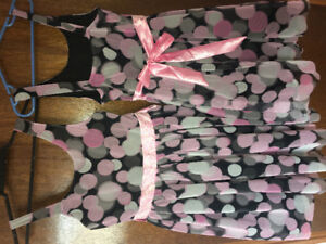 Girls size 10 and size 12 justice party dresses