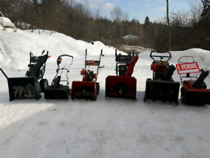 Snow blowers for sale - many to choose from!