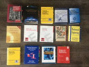 Math, Science, and Engineering Textbooks