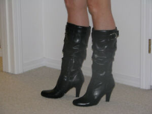 Black Slouch Booots