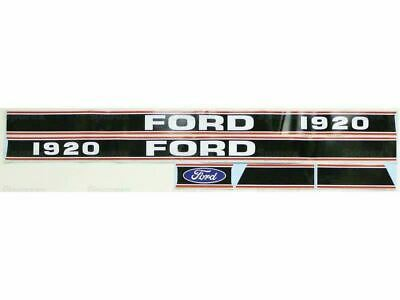 Decal Set For Ford 1920 Fits Ford New Holland Sba390115700 Sba390115870 Sba3