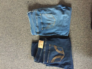 Selling: hollister jeans