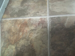 """""""Fibre Floor"""" 150 sq/ft, Slate Look North Shore Greater Vancouver Area image 2"""