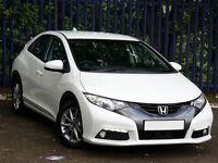2012 (62) Honda Civic i-DTEC, 2.2 Diesel, 10 months MOT, Full-Service History, 48k, FULL HPI CLEAR!!