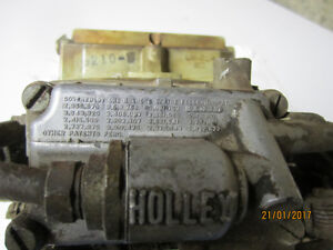 HOLLEY CARB. 4 BARREL.