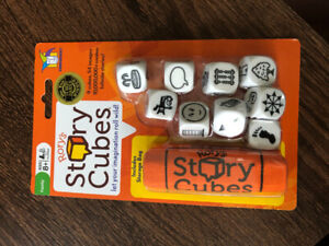 Story cubes kids game