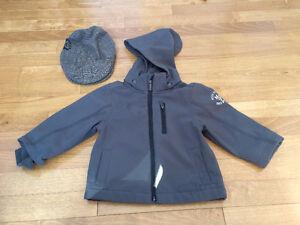 Manteau de printemps MEXX pour garcon  (12-18 mois) et casquette