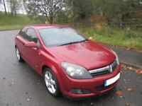2006 '55' VAUXHALL ASTRA 1.7CDTi 16v ( 100ps ) SPORTS HATCH IN A LOVELY MET RED