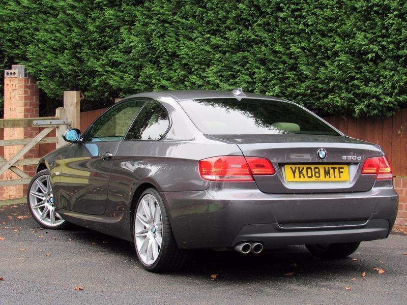 2008 BMW 3 SERIES 330d M SPORT, COUPE, DIESEL, AUTO, GREY, MV4 ALLOYS, E90  | in Kidderminster, Worcestershire | Gumtree