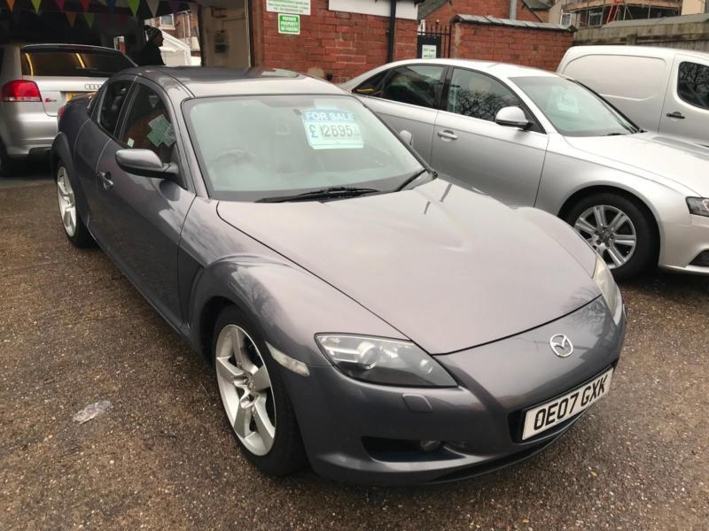 2007 07 mazda rx8 231 ps fully loaded very low mileage 37k in derby derbyshire gumtree. Black Bedroom Furniture Sets. Home Design Ideas