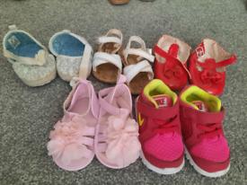 Size 3 girls shoe bundle