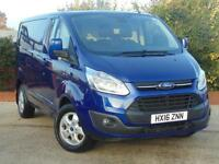 2016 Ford Transit Custom 290 L1 H1 LIMITED 3 door Panel Van
