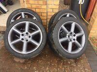 """Nissan 18"""" 350z alloys. *NEWLY REFURBED/POWDER COATED* - 5x114 - 5x114.3. Fit supra, Nissan etc"""