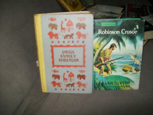 swiss family robinson and robinson crusoe
