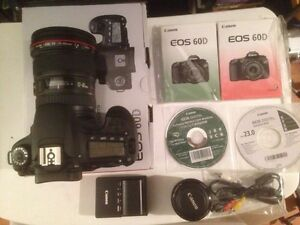 Canon 60d with 17-40 & 50mm