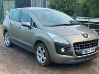 2012 Peugeot 3008 1.6 HDi 115 Active II 5dr HATCHBACK Diesel Manual